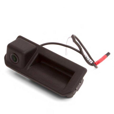 Камера заднего вида в ручку багажника для Skoda Karoq 2018– и Kodiak 2017– г.в.
