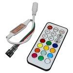 LED Controller with RF Remote Control TH2015-X-RF (RGB, WS2811, WS2812, 5 V)