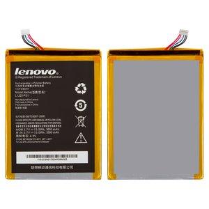 Battery L12T1P33 for Lenovo A1010, IdeaTab A1000, IdeaTab A3000, IdeaTab A3300, IdeaTab A5000 Tablets, (107 mm, 78 mm, 3.0 mm, Li-Polymer, 3.7 V, 3650 mAh)