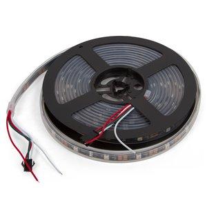 RGB LED Strip SMD5050, WS2812B (with controls, IP67, 5 V, 30 LEDs/m, 5 m)