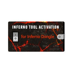 Inferno Tool 2 Years Activation for Inferno Dongle