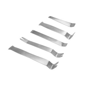 Car Trim and Panel Removal Tools Kit (Stainless Steel, 5 pcs.)