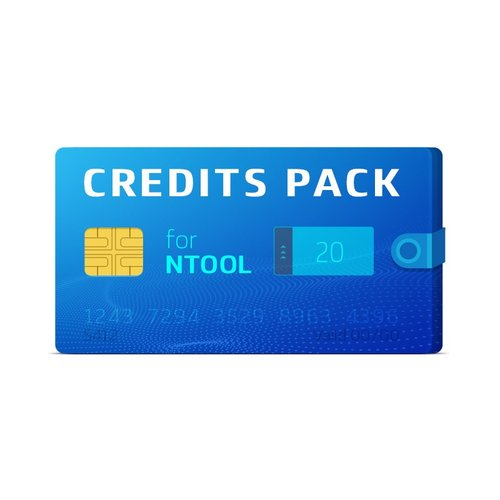 Pack de 20 créditos NTool
