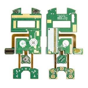 Шлейф для мобильного телефона Samsung Z130, межплатный, с компонентами