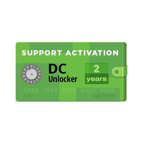 Активация DC-Unlocker (Поддержка на 2 года)