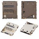 Коннектор карты памяти для Sony E6533 Xperia Z3+ DS, E6683 Xperia Z5 Dual