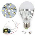 Комплект для сборки светодиодной лампы SQ-Q02 5730 5 Вт (холодный белый, E27), диммируемый