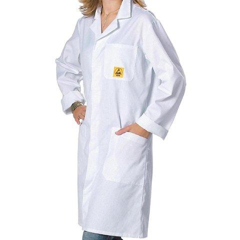 Антистатический халат Warmbier AM-160 2618.AM160.W.2XL
