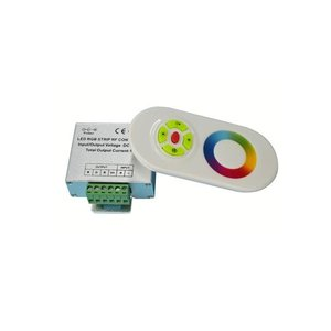 Контролер з тачпультом HTL-022 (RGB, 5050, 3528, 216 Вт)