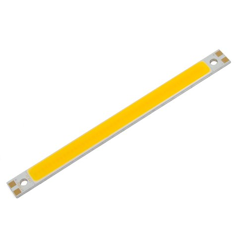 COB LED модуль 10 Вт теплий білий, 1050 лм, 120×10 мм, 720 мА, 12 14 В