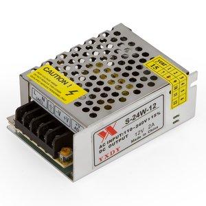 Блок живлення для світлодіодних стрічок 12 В / 2 A (24 Вт)