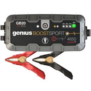 Пускозарядний пристрій для автомобільного акумулятора GB20