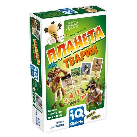 Настільна гра Granna IQ Планета тварин
