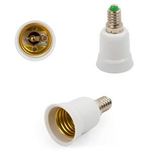 Base Adapter (E14 to E27, white)